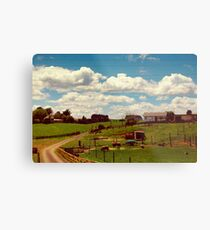 Litte Farm Metal Print