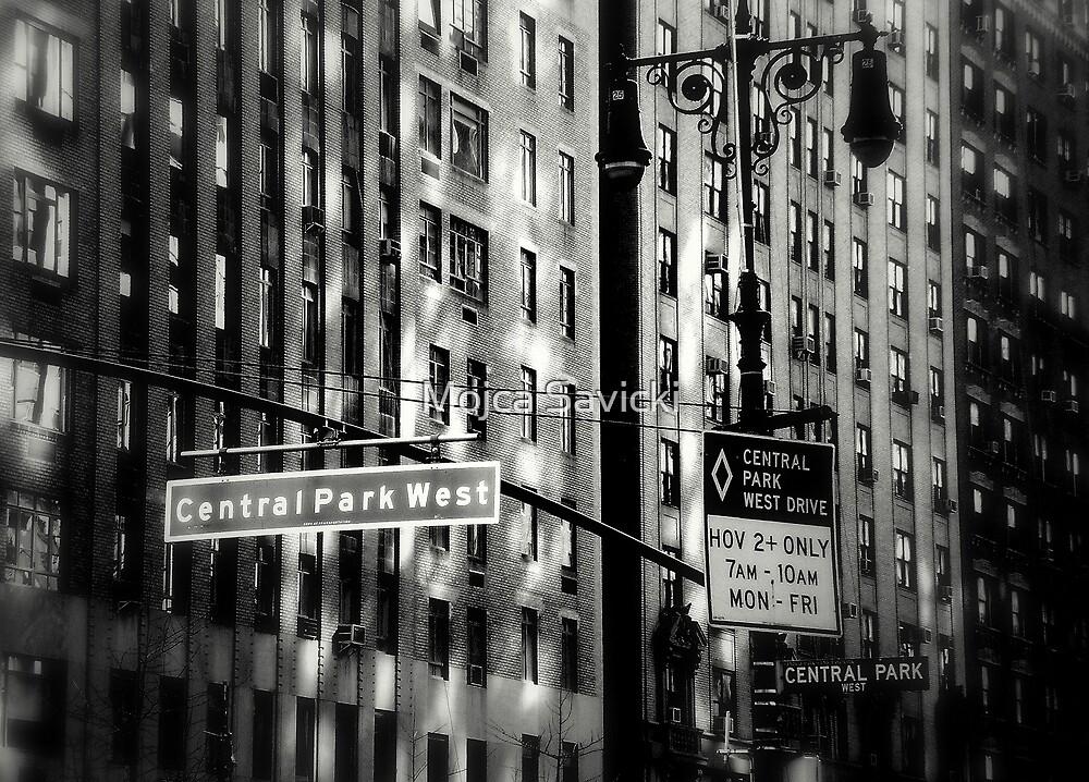 Central Park West by Mojca Savicki