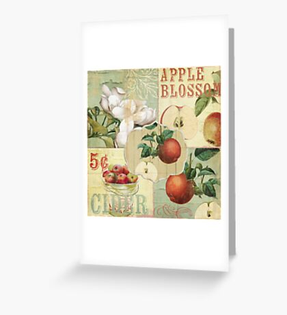Apple Blossoms IV Greeting Card