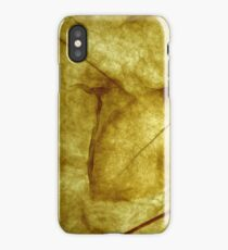 Dry Leaf iPhone Case