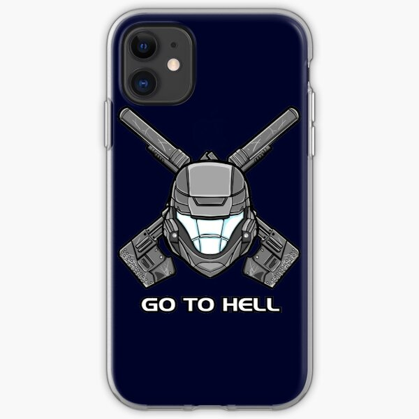 ODST: Go To Hell iPhone Soft Case