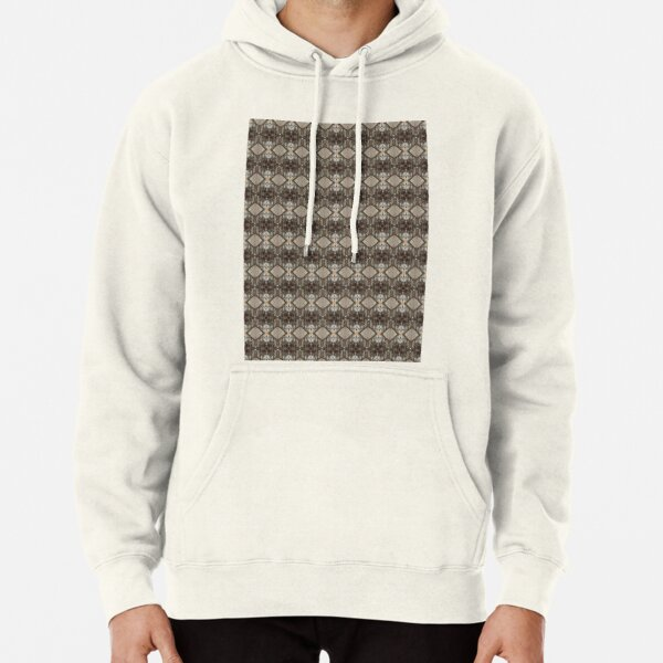#Pattern, #design, #abstract, #illustration, decoration, textile, art, tile, element, repetition, vertical, seamless pattern, textured Pullover Hoodie