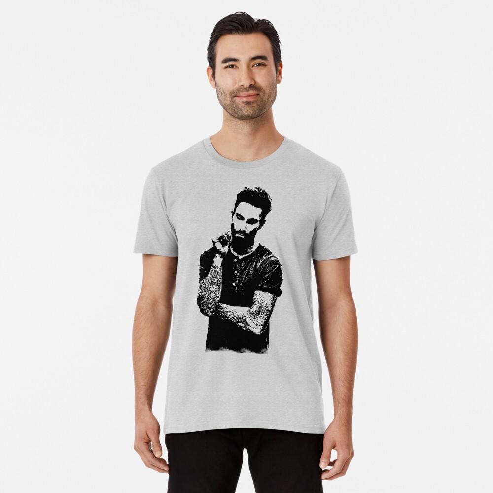 Adam Noah Levine portrait art digital illustration of Adam Noah Premium T-Shirt