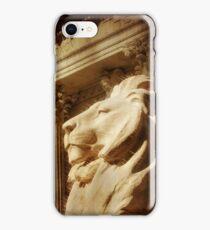 Lion in the Sun iPhone Case/Skin