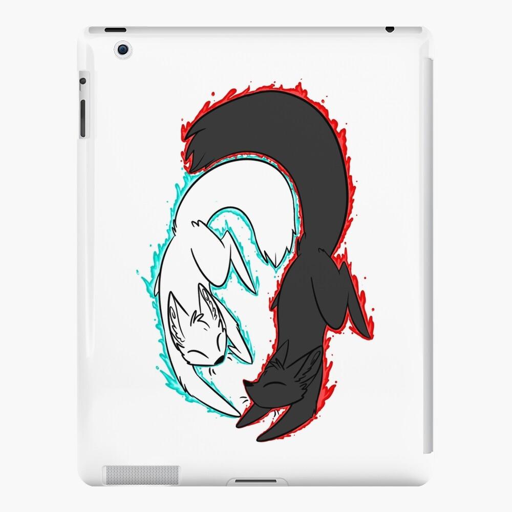Zorro de llamas gemelas! Funda y vinilo para iPad