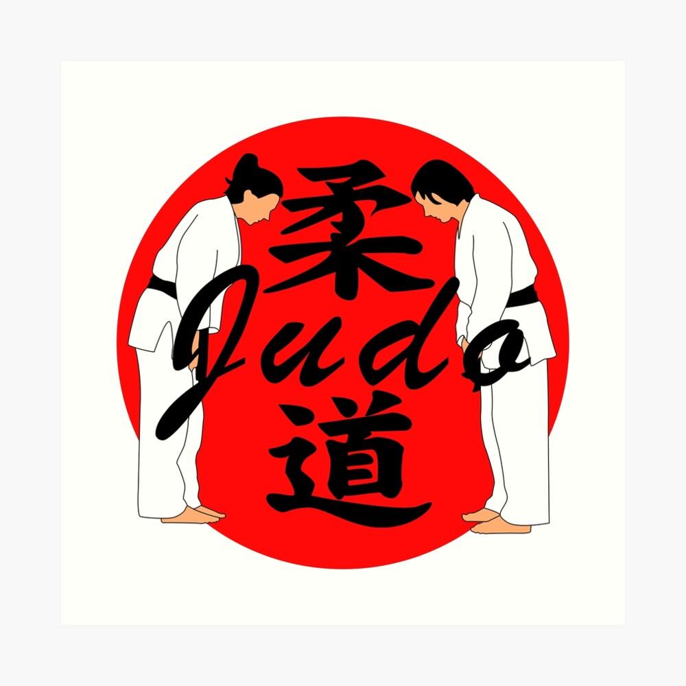 Judo Kunstdruck