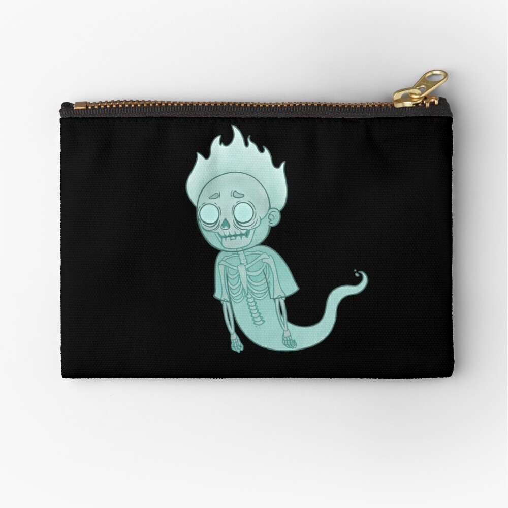 Ghost Morty Zipper Pouch
