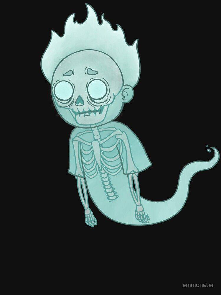 Ghost Morty by emmonster