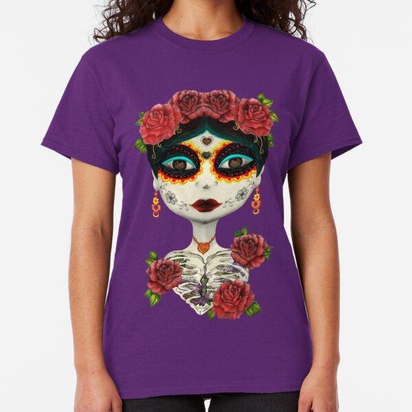 La Catrina-Calavera dulce. Camiseta clásica