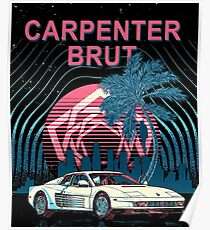 Carpenter Brut Posters | Redbubble
