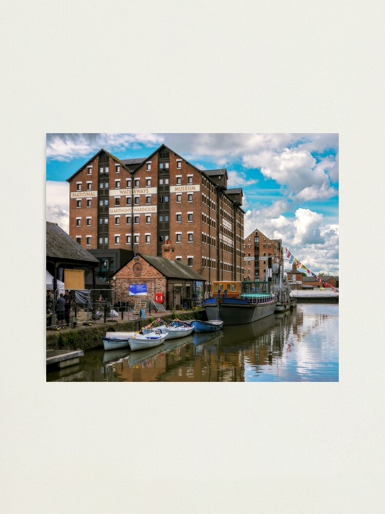 Alternate view of Gloucester Dock Reflections  Photographic Print