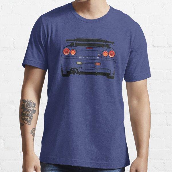 Nissan GTR R34 Black Essential T-Shirt