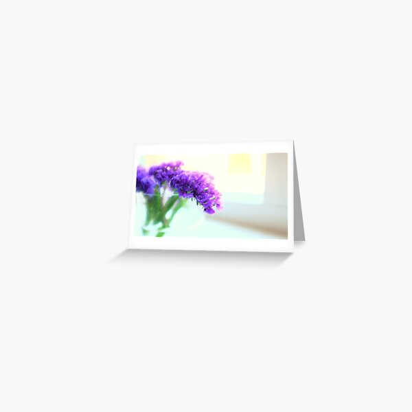 Soft mauve Greeting Card