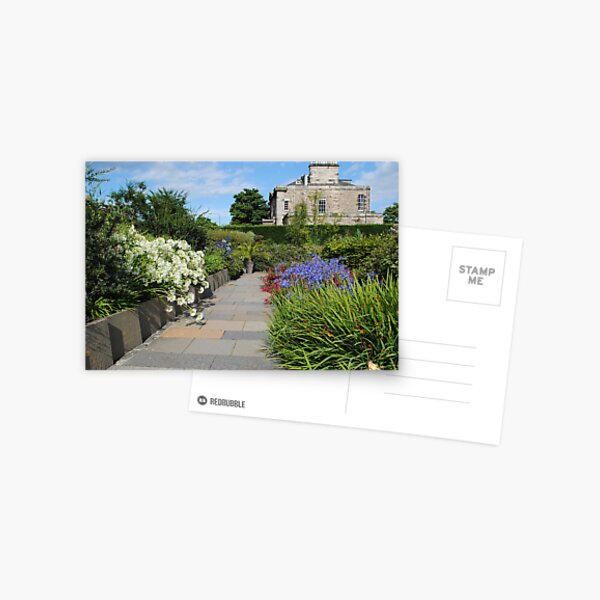 Queen Mother's Garden, RBG, Edinburgh, Scotland. Postcard
