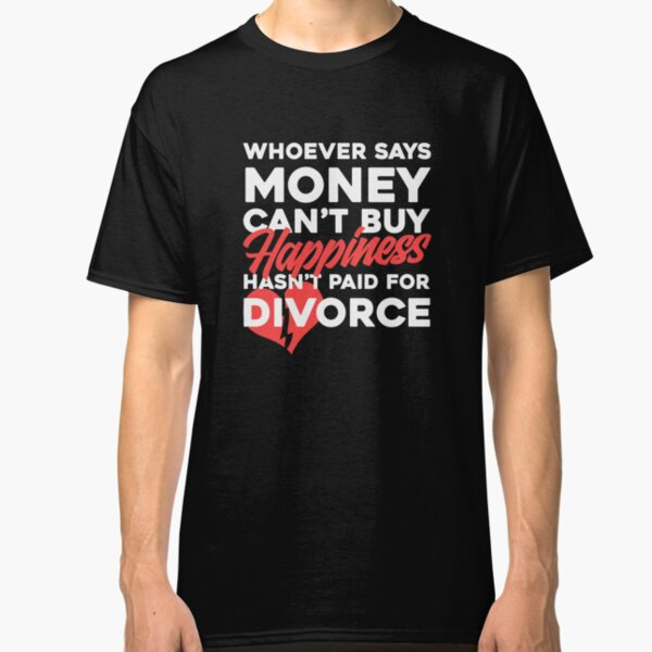 /'Smart Car/'  Men/'s Funny Gift T-shirt /'They say Money can/'t buy Happiness.../'