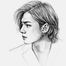 BTS KIM TAEHYUNG by Ellen-Drawings