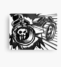 Ludicrous Speed Metal Print
