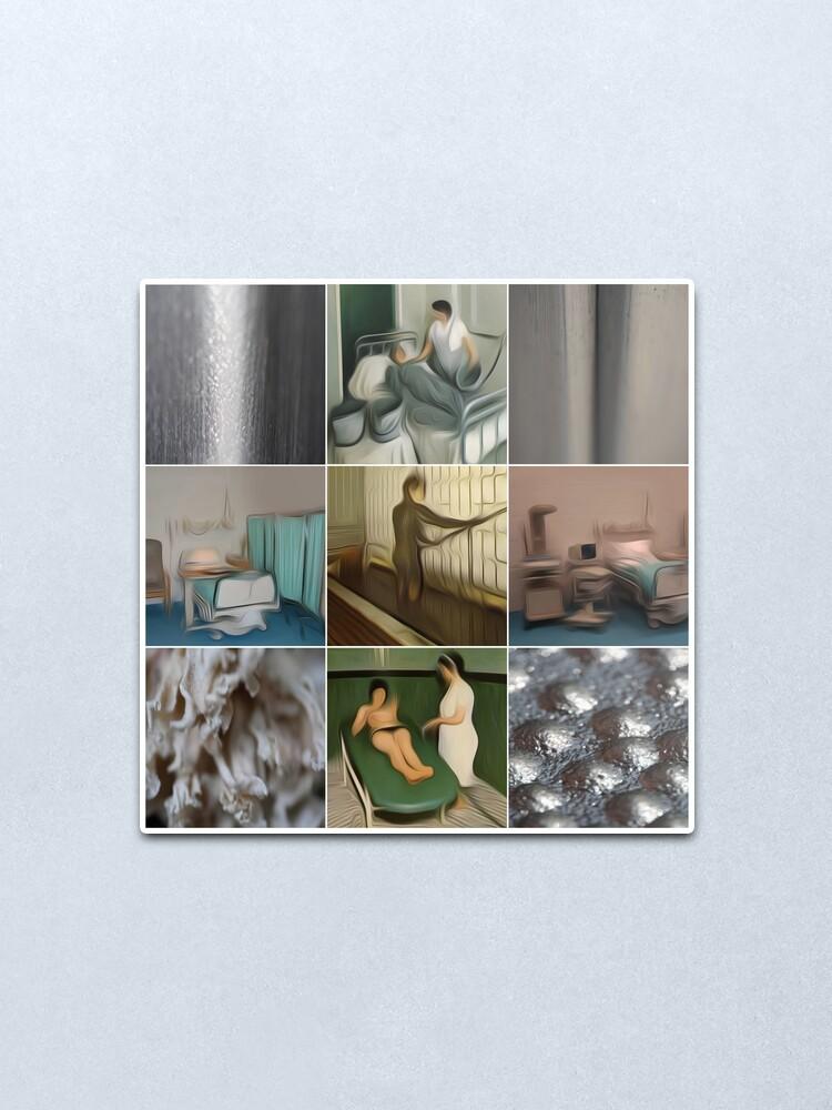 Alternate view of newkao-004 Metal Print