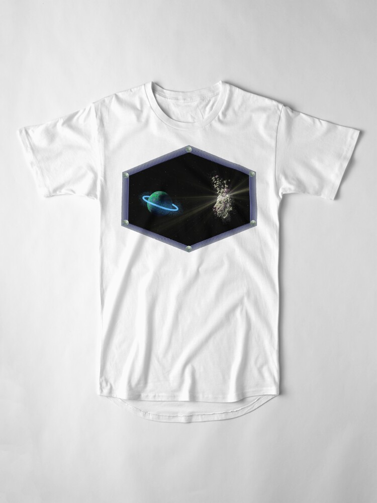 Alternate view of ASTEROID DAY 2. Long T-Shirt