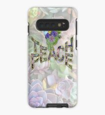 South Africa Succulents & Teach Peace Case/Skin for Samsung Galaxy