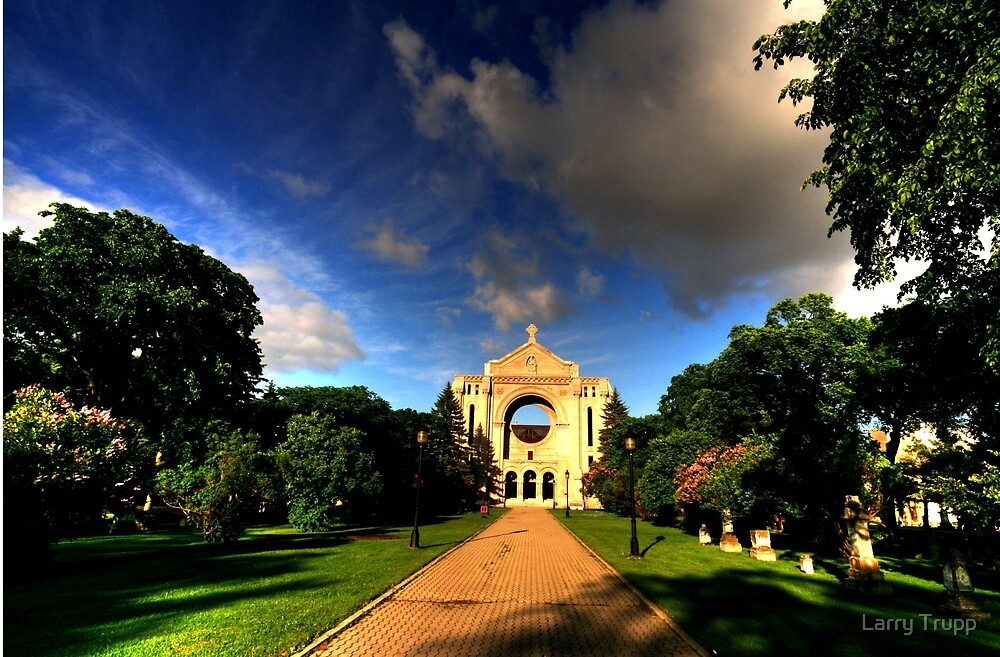 St. Boniface Cathedral by Larry Trupp