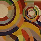 Sonia Circles THREE by BigFatArts