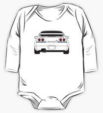 Nissan GTR R33 Black One Piece - Long Sleeve