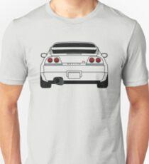 Nissan GTR R33 Black Unisex T-Shirt