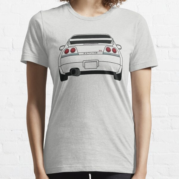 Nissan GTR R33 Black Essential T-Shirt