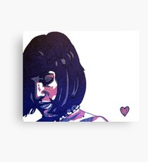 Purple Heart Canvas Print