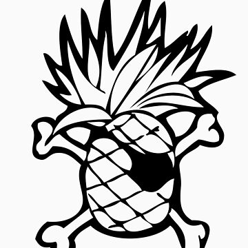 The Pineapple Pirate by Krows