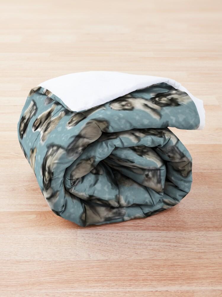 Alternate view of Polish Owczarek Nizinny PON Comforter