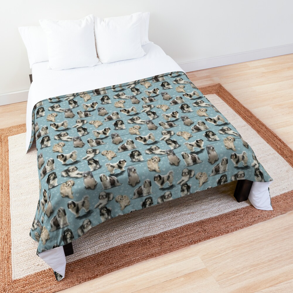 Polish Owczarek Nizinny PON Comforter
