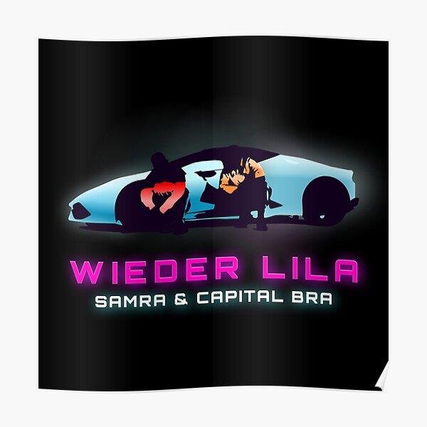 WIEDER LILA - SAMRA | BRAS DE CAPITAL Poster