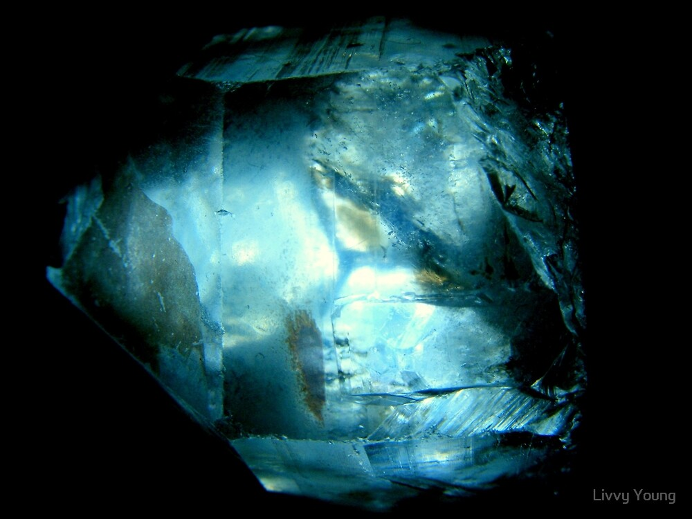 Clear crystal. by Livvy Young