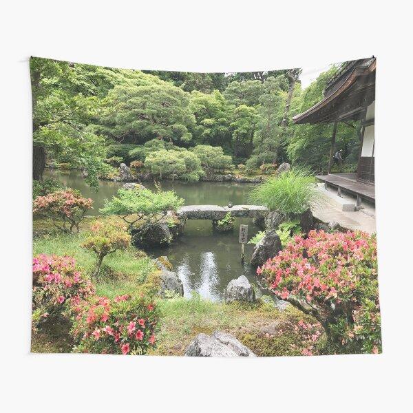 Japanisches Garten Paradies Wandbehang