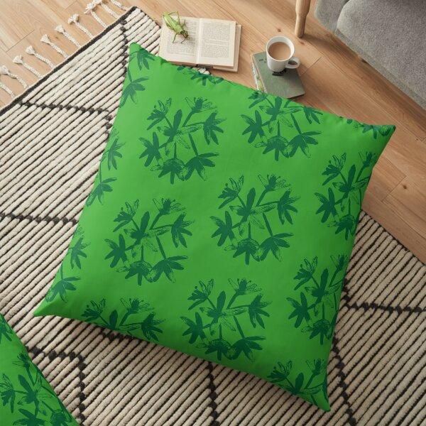Ramsons  Floor Pillow