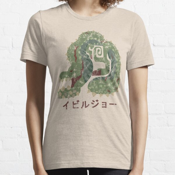 Monster Hunter World Deviljho Kanji Icon Essential T-Shirt