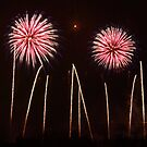 Firework Display 2 by Peter Barrett