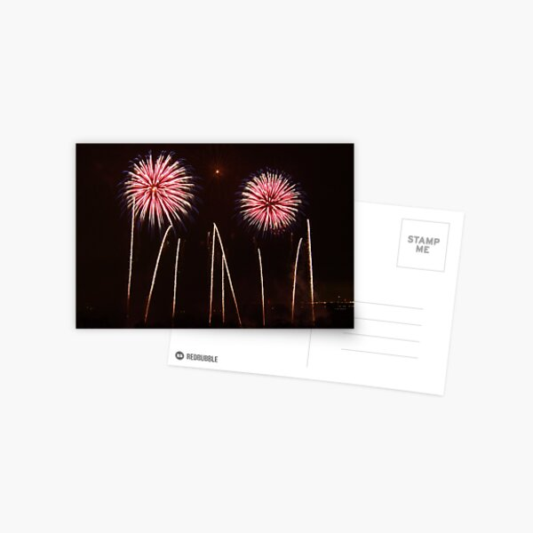 Firework Display 2 Postcard