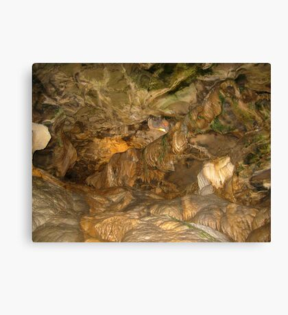 Howe Caverns- New York Canvas Print