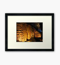 Howe Caverns- New York (2) Framed Print