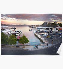 Sullivans Cove, Hobart, Tasmania Poster