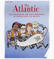 Póster Cazafantasmas: Portada de la revista Atlantic