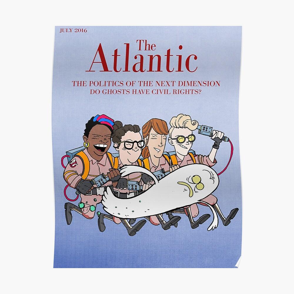 Geisterjäger: Atlantic Magazine Cover Poster