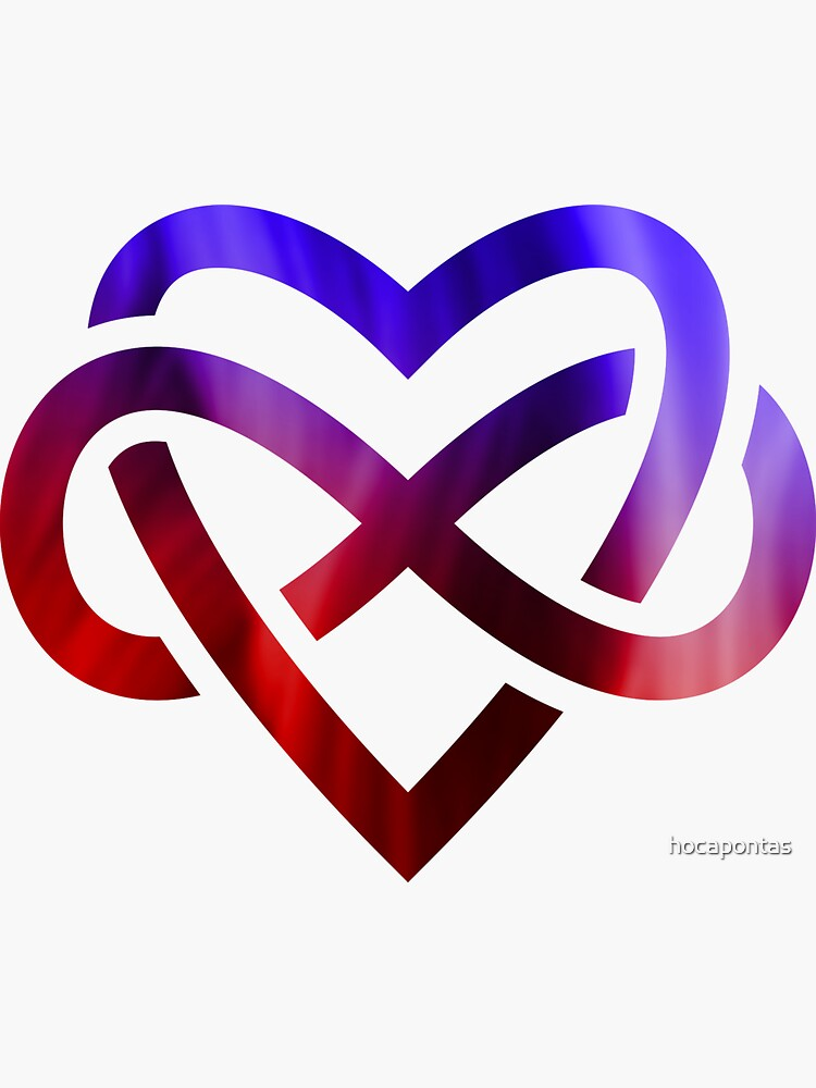 Polyamory Infinity Heart by hocapontas