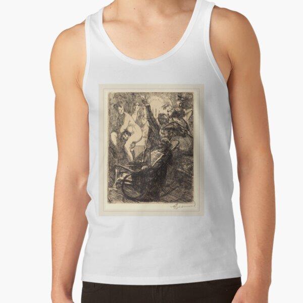 Albert Besnard The Orgy Lorgie French Litz Collection, The Orgy (L'orgie), 1900 Tank Top