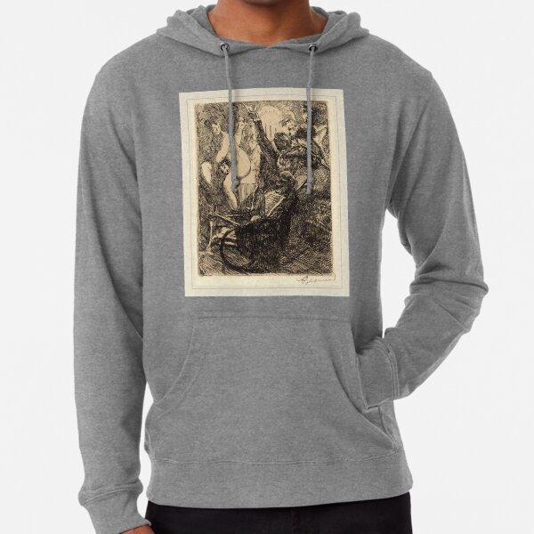 Albert Besnard The Orgy Lorgie French Litz Collection, The Orgy (L'orgie), 1900 Lightweight Hoodie