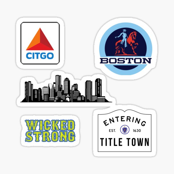 Boston Sticker Pack Sticker