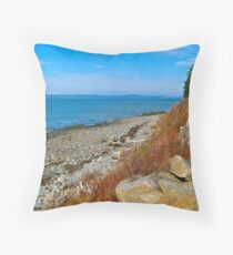 New Edinburgh Beach Throw Pillow